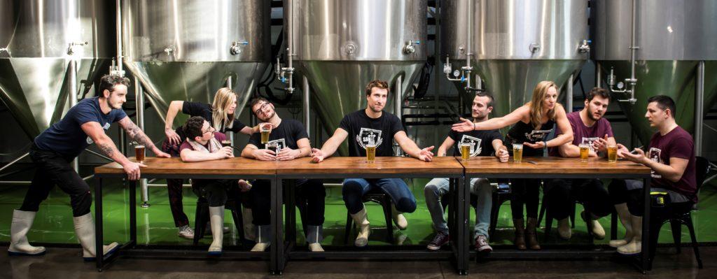 Crew brasserie SAINTE CRU Colmar