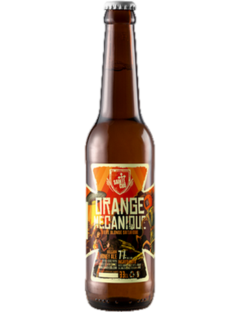 Bouteille Orange Mécanique Sainte Cru Belgian Honey Ale miel