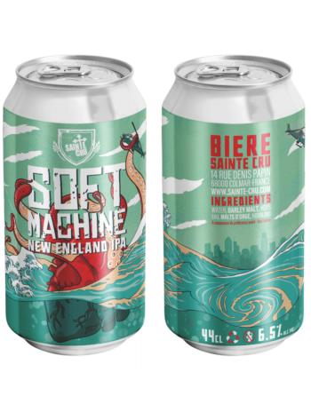 Can 44 cl SOFT MACHINE Sainte Cru NEIPA