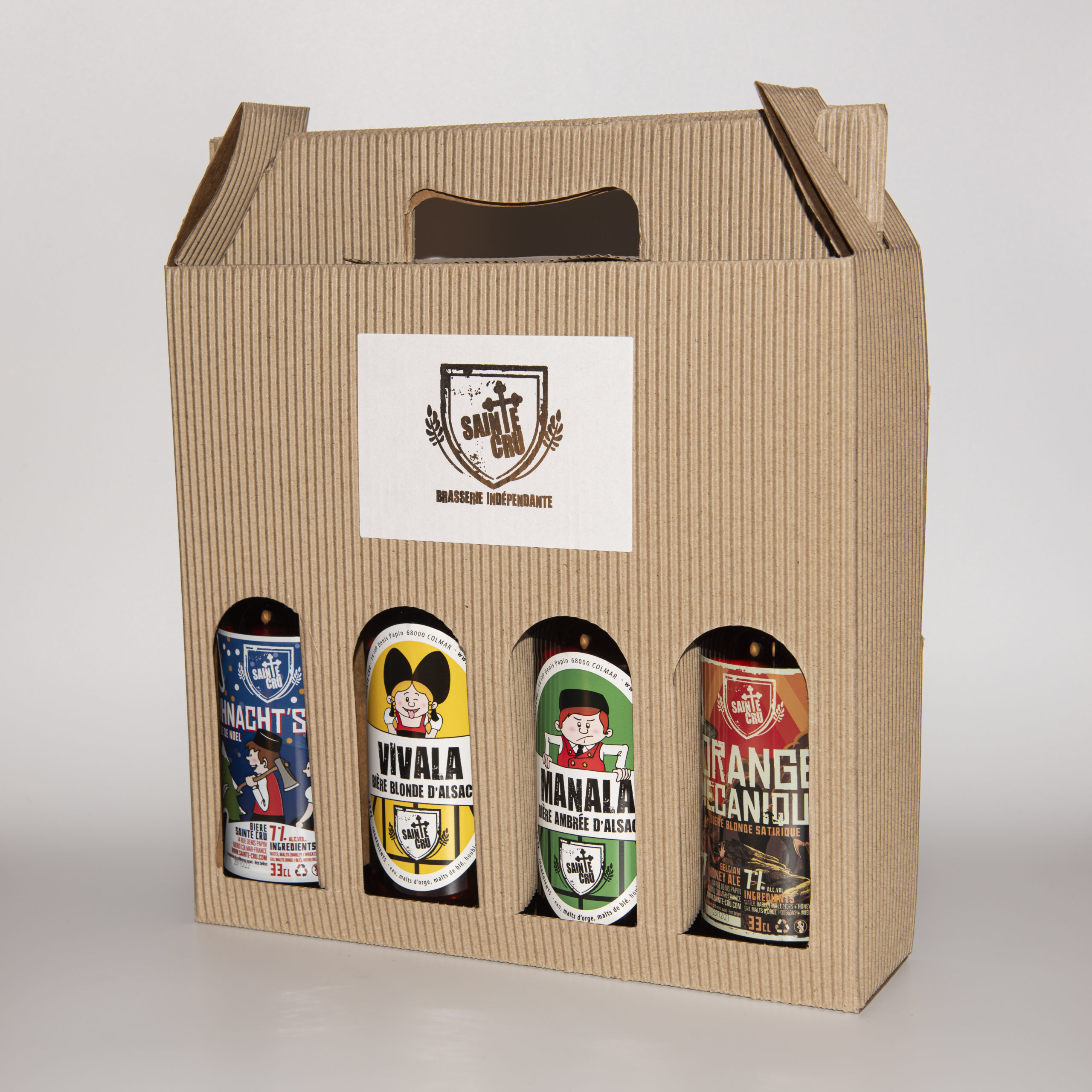 Pack 4 bouteilles SAINTE CRU Colmar
