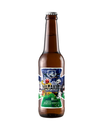 Harakiri bière triple Sainte Cru Colmar