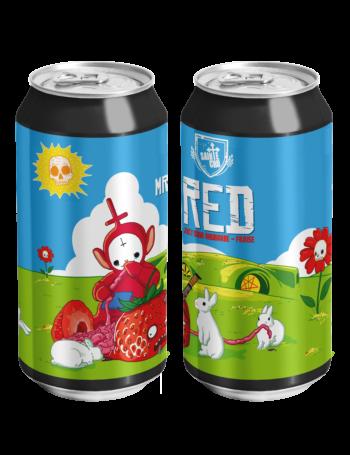 Mr RED juicy sour rhubarbe-fraise SAINTE CRU Colmar