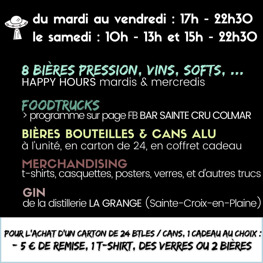 Bar Sainte Cru Colmar